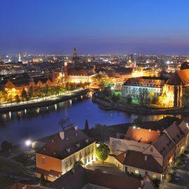 Osiem wspaniałych… miejsc do podziwiania Wrocławia z wysoka