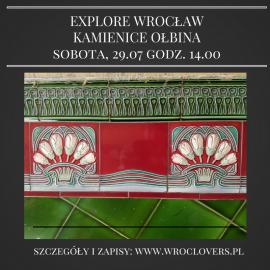 Explore Wrocław – kamienice Ołbina