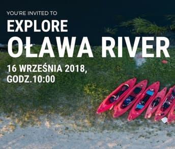 EXPLORE OŁAWA RIVER – zaproszenie