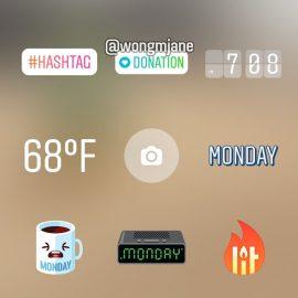 Przekazywanie datków przez Instagram Stories