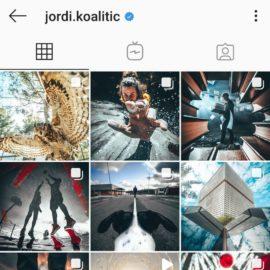 Inspiracje z instagrama: Jordi Koalitic